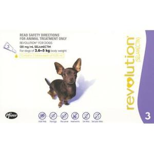 REVOLUTION DOG 2.6-5KG 3PACK