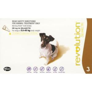 REVOLUTION DOG 5-10KG 3PK