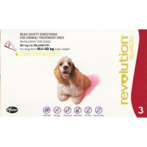 REVOLUTION DOG 10-20KG 3PACK