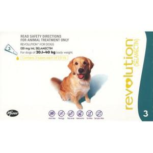 REVOLUTION DOG 20-40KG 3PK