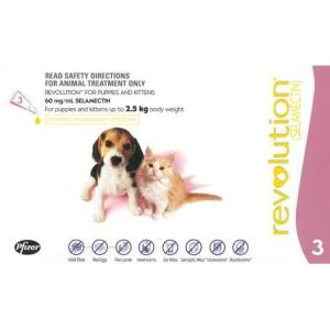 REVOLUTION PUPPY/KITTEN 3 PACK