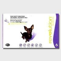 REVOLUTION DOG 2.6-5KG 6 PK