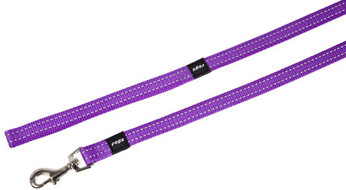LUMBERJACK EXTRA LARGE DOG LEAD IN PURPLE