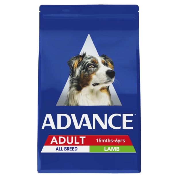 ADVANCE DOG ALL BREED LAMB AND RICE 15KG