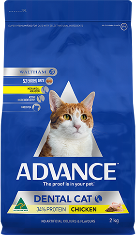 ADVANCE CAT DENTAL 2KG CHICKEN