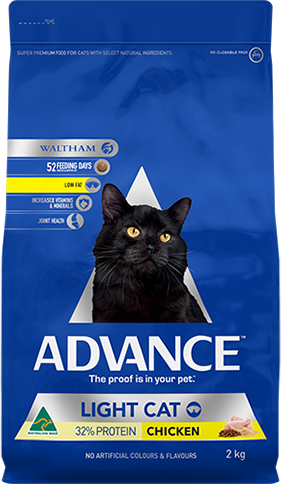 ADVANCE CAT LIGHT 2KG CHICKEN