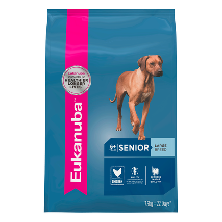 EUKANUBA  DOG SENIOR LARGE BREED 14KG