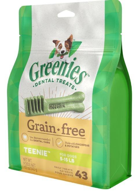 GREENIES GRAIN FREE TEENIE 340G
