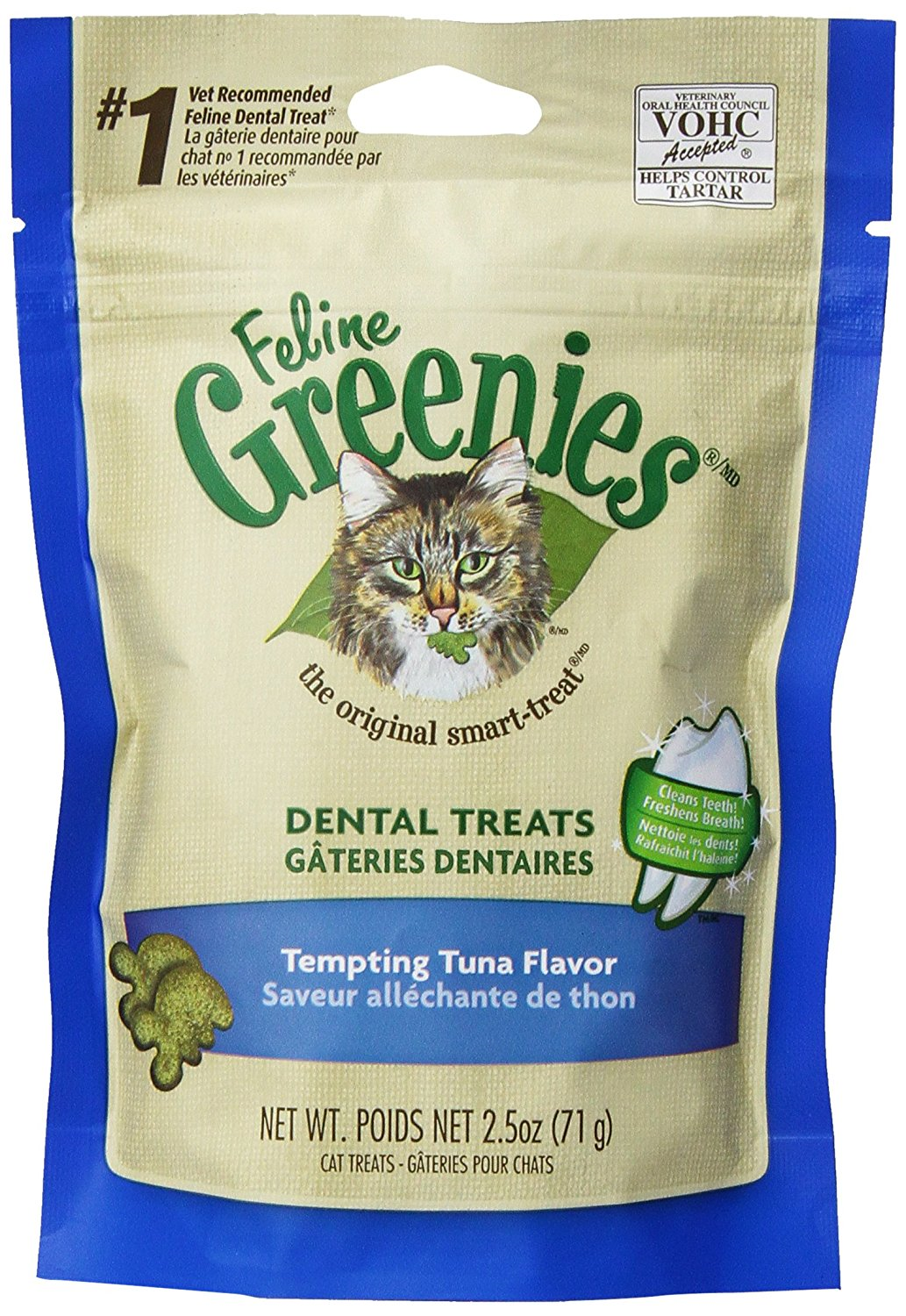 GREENIES CAT TUNA 71g