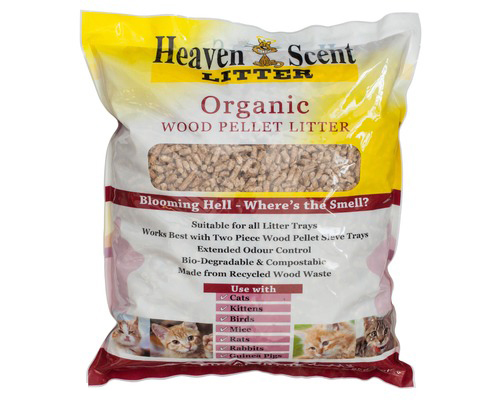 HEAVEN SCENT WOOD ORGANIC LITTER