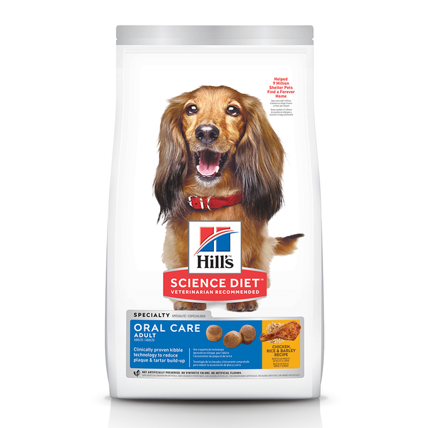 SCIENCE DIET DOG ADULT ORAL CARE 12KG