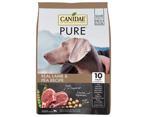 CANIDAE DOG GRAIN FREE PURE ELEMENTS 10.8KG