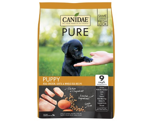 CANIDAE DOG GRAIN FREE PUPPY PURE FOUNDATION 10.8KG