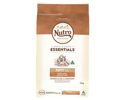 NUTRO DOG PUPPY CHICKEN 15KG
