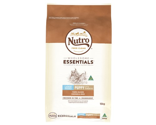 NUTRO DOG PUPPY LARGE BREED 15KG