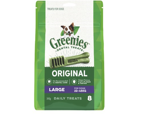 GREENIES LARGE 8PACK 22-45KG