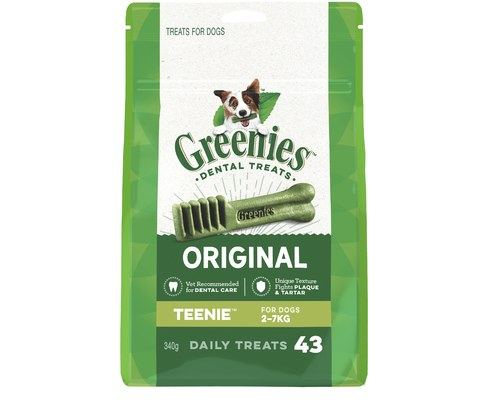GREENIES TEENIE 43PACK 340G 2-7KG DOG
