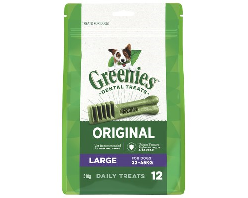 GREENIES LARGE 22-45KG 12PK