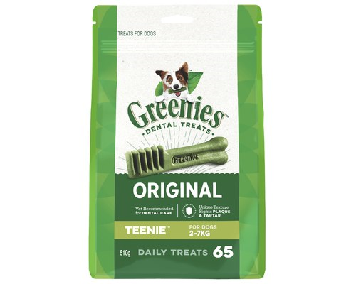 GREENIES TEENIE 2-7KG 65PK
