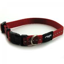 ROGZ NITELIFE COLLAR RED