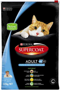SUPERCOAT CAT SALMON/TUNA 3.5KG